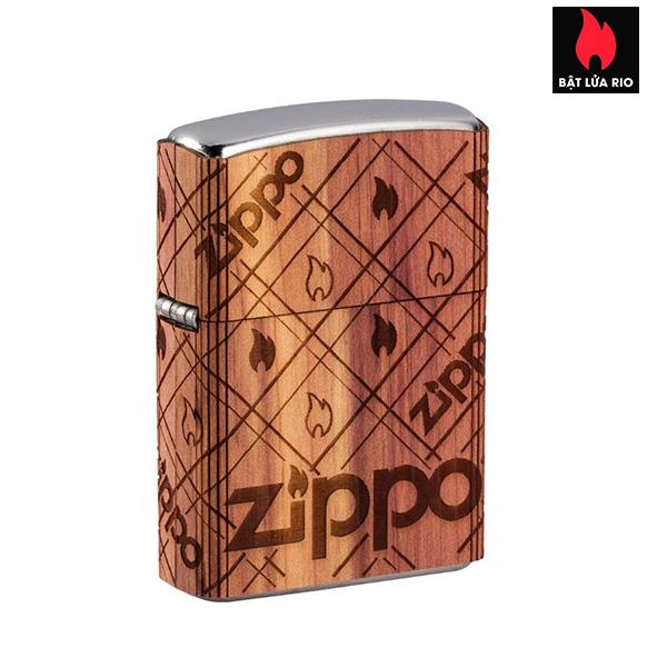 Zippo 49331 - Zippo WOODCHUCK USA Zippo Cedar Wrap
