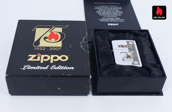 Zippo 75th Commemerative Lighter 2