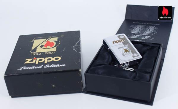 Zippo 75th Commemerative Lighter 3