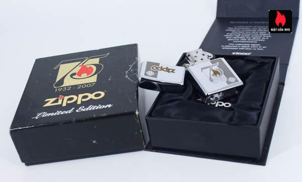 Zippo 75th Commemerative Lighter 4