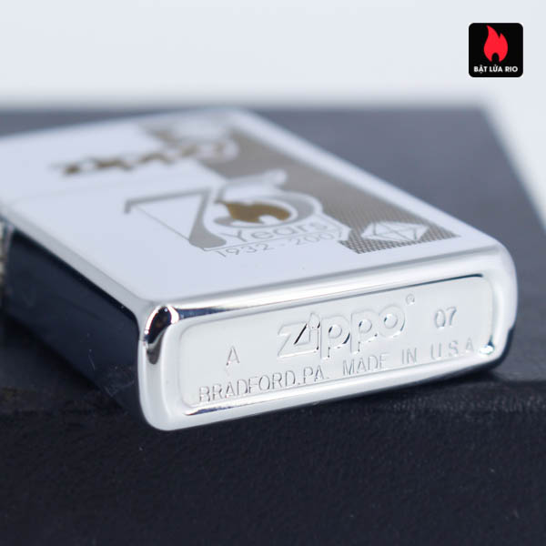 Zippo 75th Commemerative Lighter 6