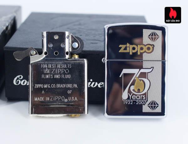 Zippo 75th Commemerative Lighter 8