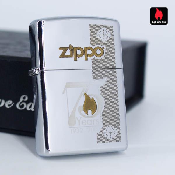 Zippo 75th Commemerative Lighter