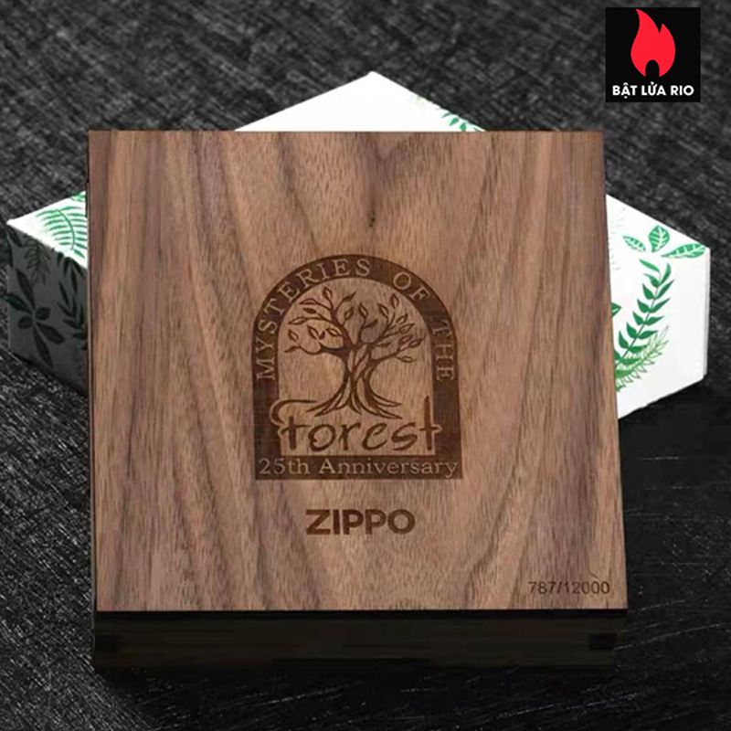 Zippo 49347 - Zippo Mysteries Of The Forest 25th Anniversary Collectible Set 40
