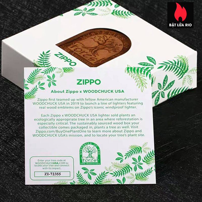 Zippo 49347 - Zippo Mysteries Of The Forest 25th Anniversary Collectible Set 41