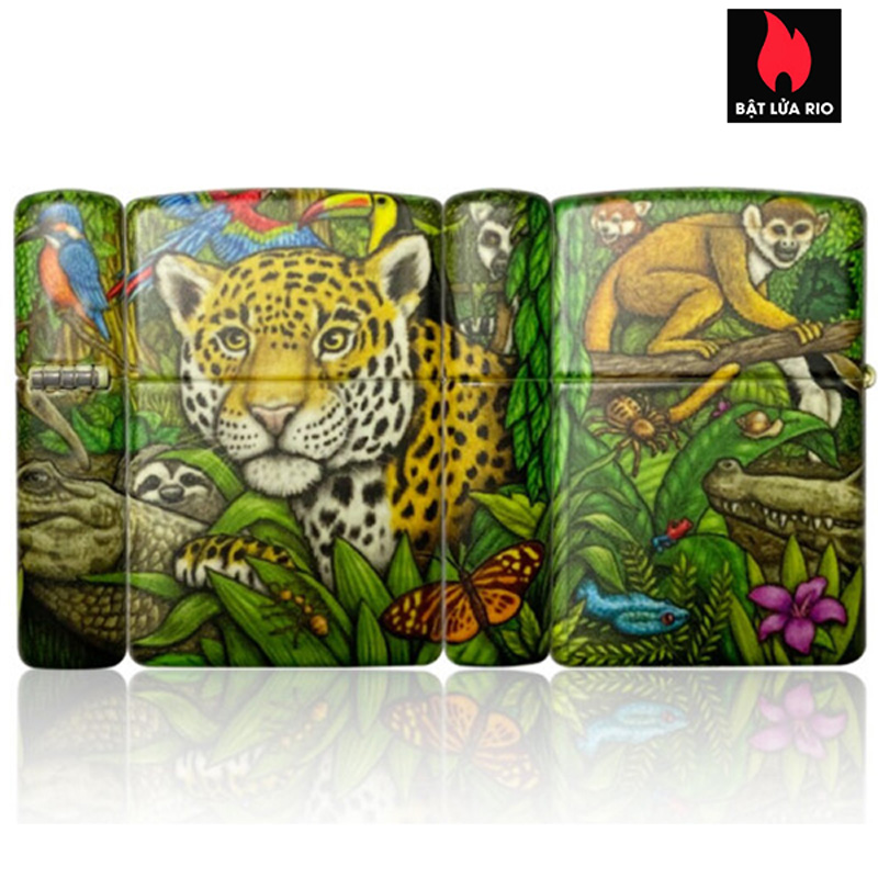 Zippo 49347 - Zippo 25th Anniversary Mysteries Of The Forest Set 1