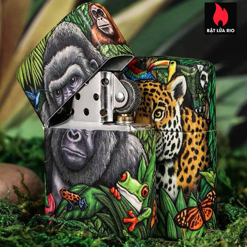 Zippo 49347 - Zippo 25th Anniversary Mysteries Of The Forest Set 14