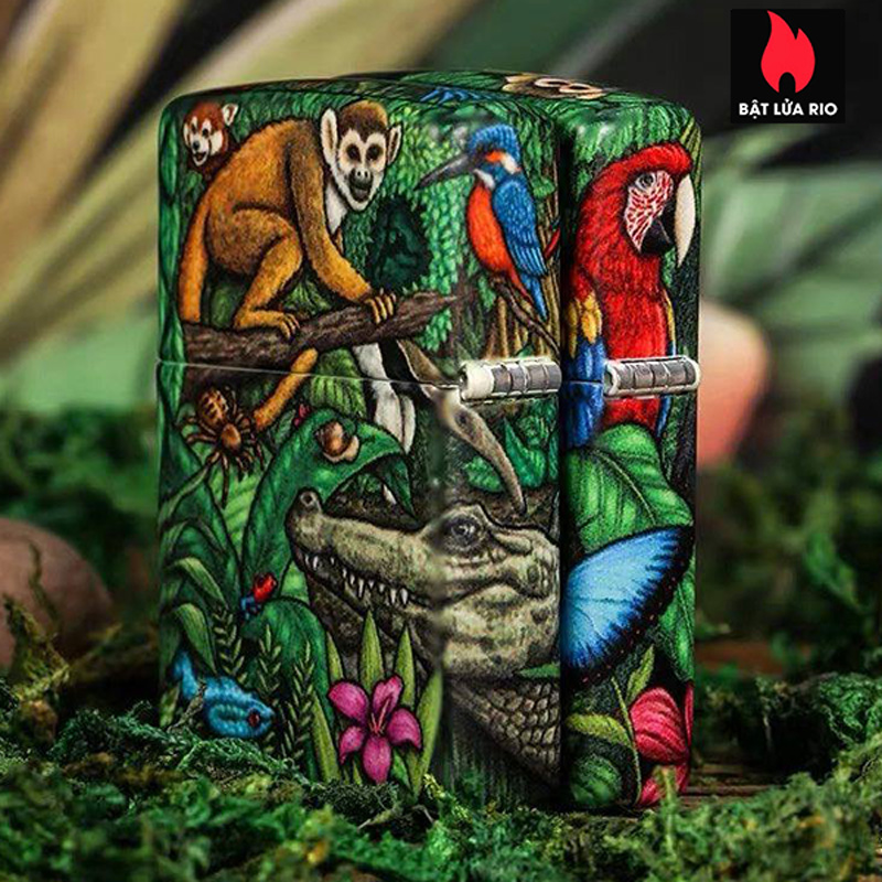 Zippo 49347 - Zippo 25th Anniversary Mysteries Of The Forest Set 16