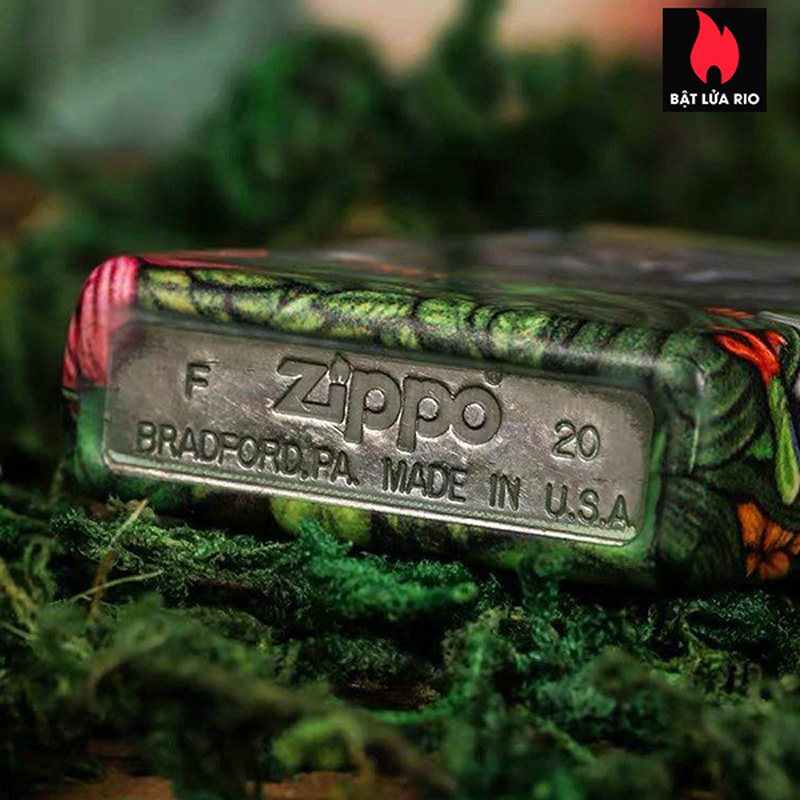 Zippo 49347 - Zippo 25th Anniversary Mysteries Of The Forest Set 17