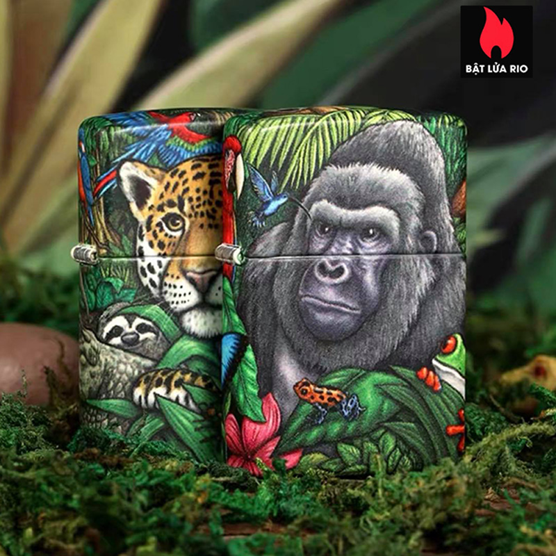 Zippo 49347 - Zippo 25th Anniversary Mysteries Of The Forest Set 18
