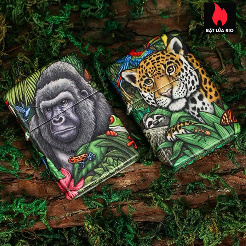 Zippo 49347 - Zippo 25th Anniversary Mysteries Of The Forest Set 19
