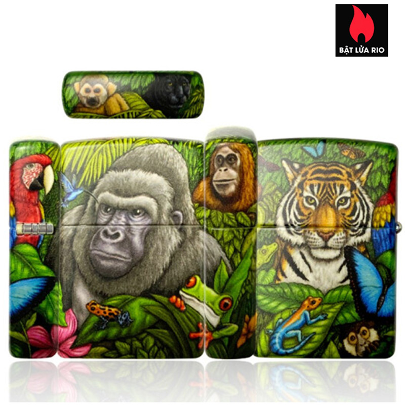 Zippo 49347 - Zippo 25th Anniversary Mysteries Of The Forest Set 2