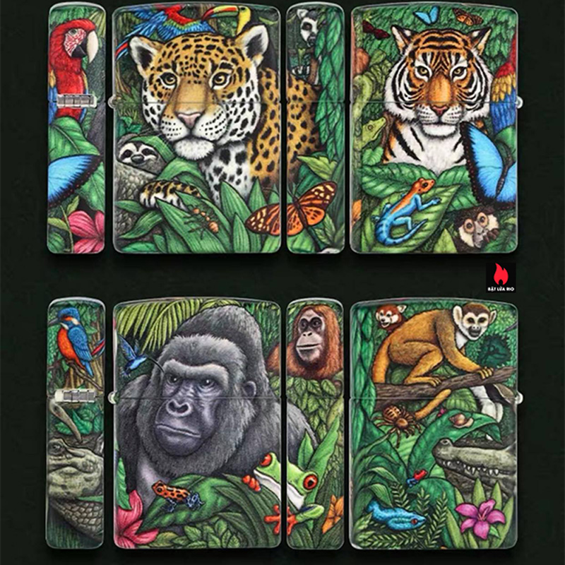 Zippo 49347 - Zippo 25th Anniversary Mysteries Of The Forest Set 20