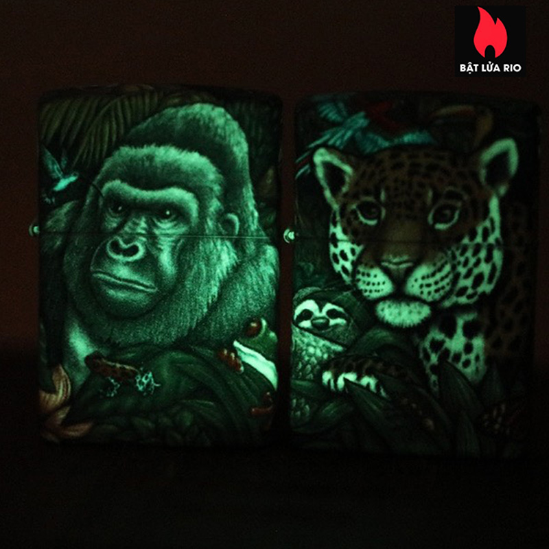 Zippo 49347 - Zippo 25th Anniversary Mysteries Of The Forest Set 22