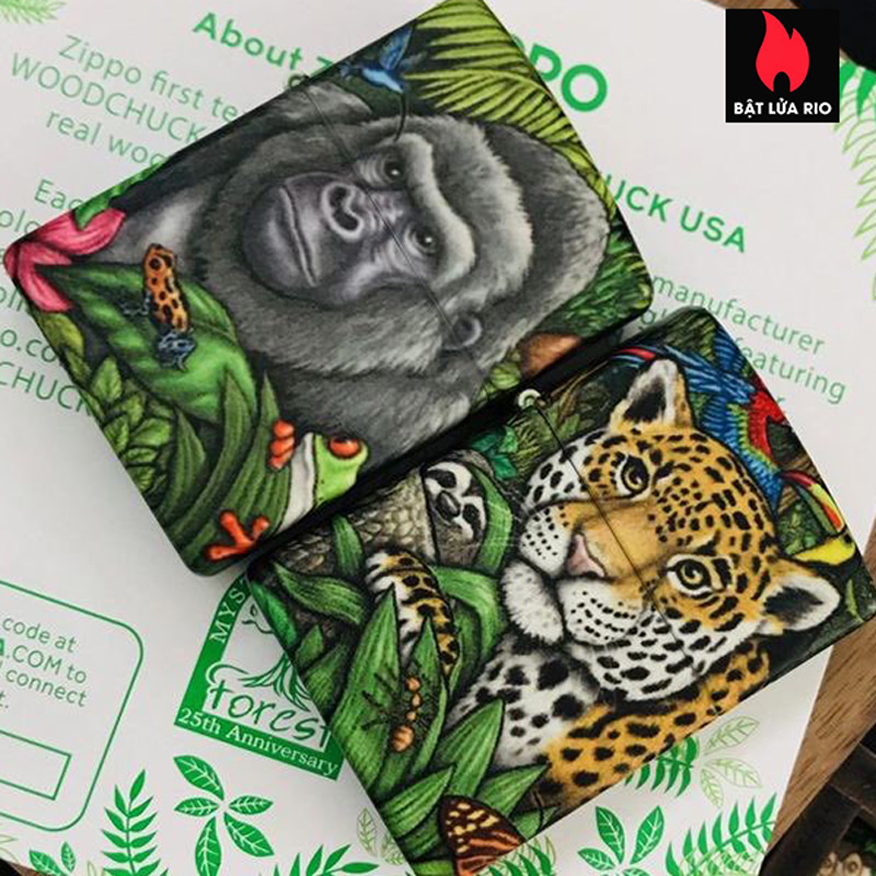 Zippo 49347 - Zippo 25th Anniversary Mysteries Of The Forest Set 25