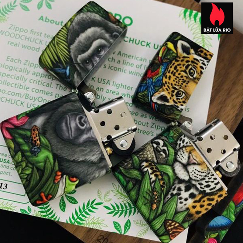 Zippo 49347 - Zippo 25th Anniversary Mysteries Of The Forest Set 26