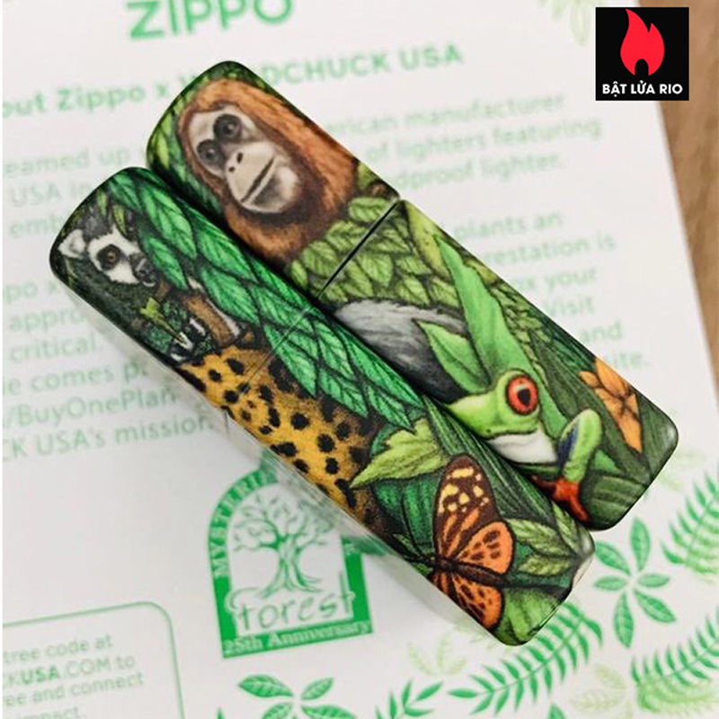 Zippo 49347 - Zippo 25th Anniversary Mysteries Of The Forest Set 27