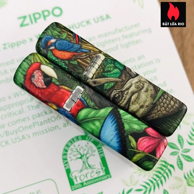 Zippo 49347 - Zippo 25th Anniversary Mysteries Of The Forest Set 28