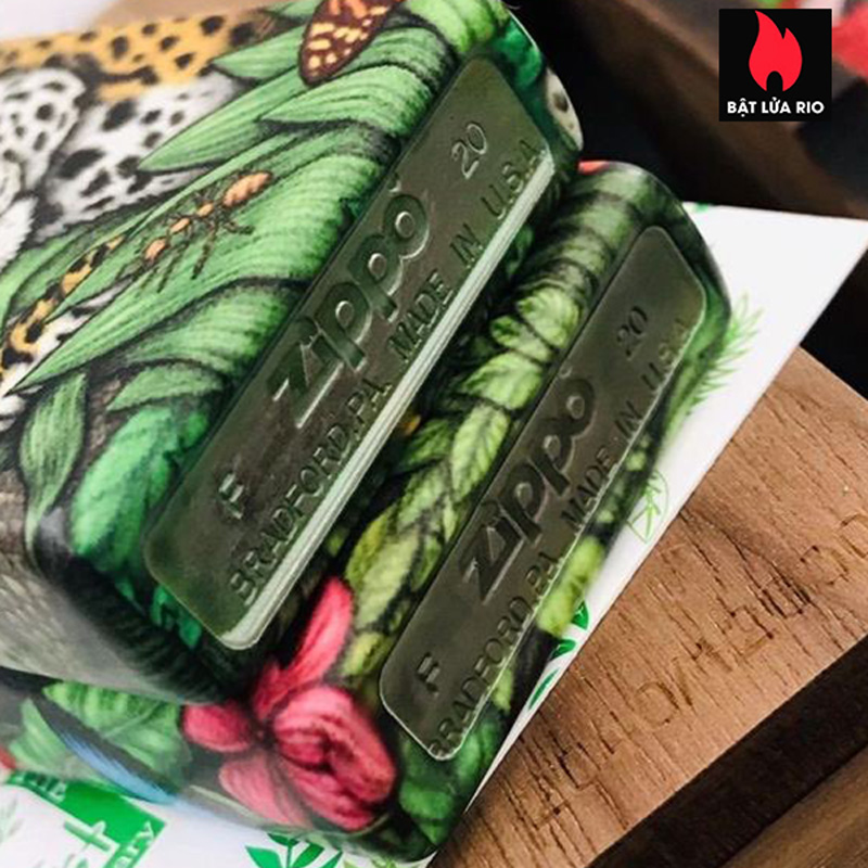 Zippo 49347 - Zippo 25th Anniversary Mysteries Of The Forest Set 29