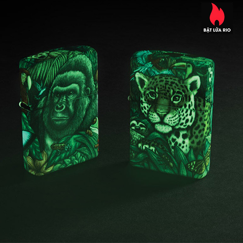 Zippo 49347 - Zippo 25th Anniversary Mysteries Of The Forest Set 3