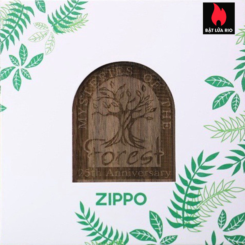 Zippo 49347 - Zippo 25th Anniversary Mysteries Of The Forest Set 30