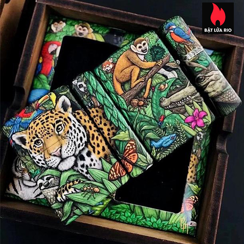 Zippo 49347 - Zippo 25th Anniversary Mysteries Of The Forest Set 33