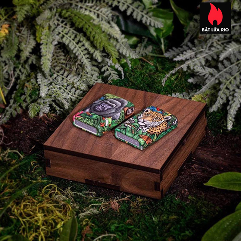 Zippo 49347 - Zippo 25th Anniversary Mysteries Of The Forest Set 36