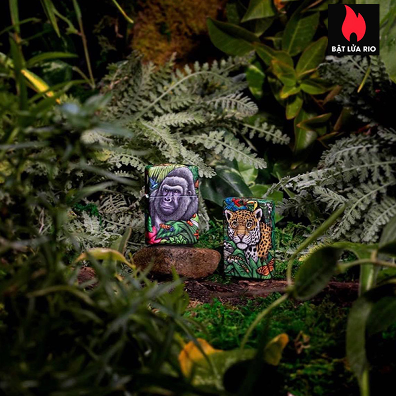 Zippo 49347 - Zippo 25th Anniversary Mysteries Of The Forest Set 37
