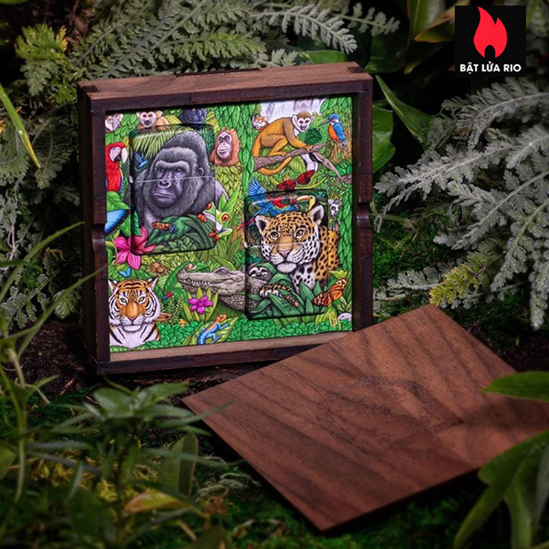 Zippo 49347 - Zippo Mysteries Of The Forest 25th Anniversary Collectible Set 44