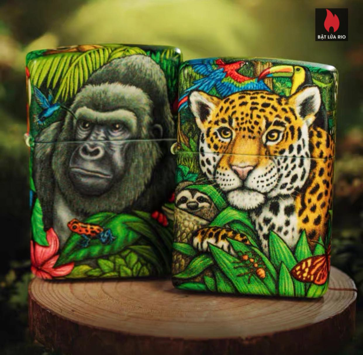 Zippo 49347 - Zippo Mysteries Of The Forest 25th Anniversary Collectible Set 46