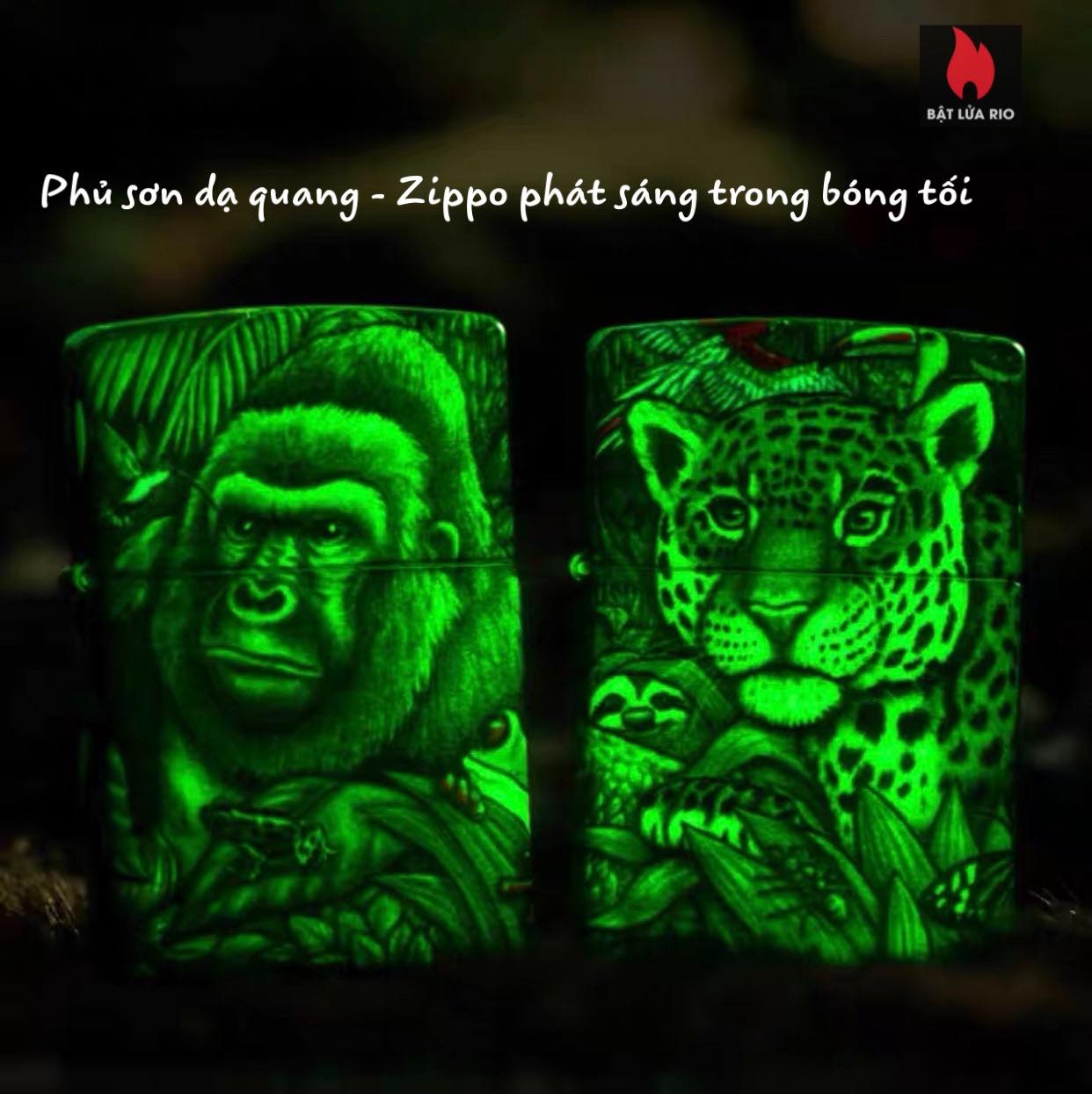 Zippo 49347 - Zippo Mysteries Of The Forest 25th Anniversary Collectible Set 47
