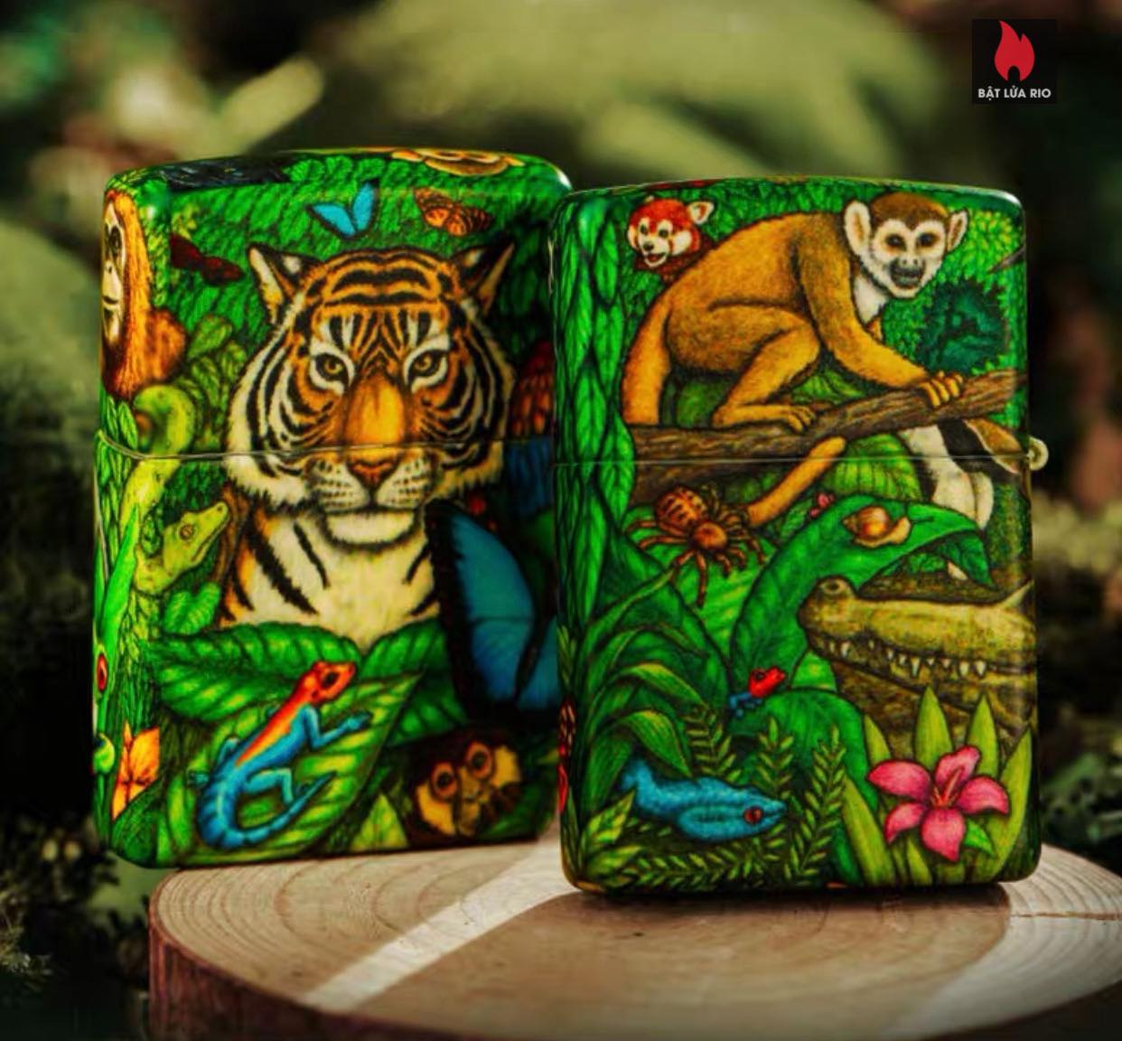Zippo 49347 - Zippo Mysteries Of The Forest 25th Anniversary Collectible Set 48