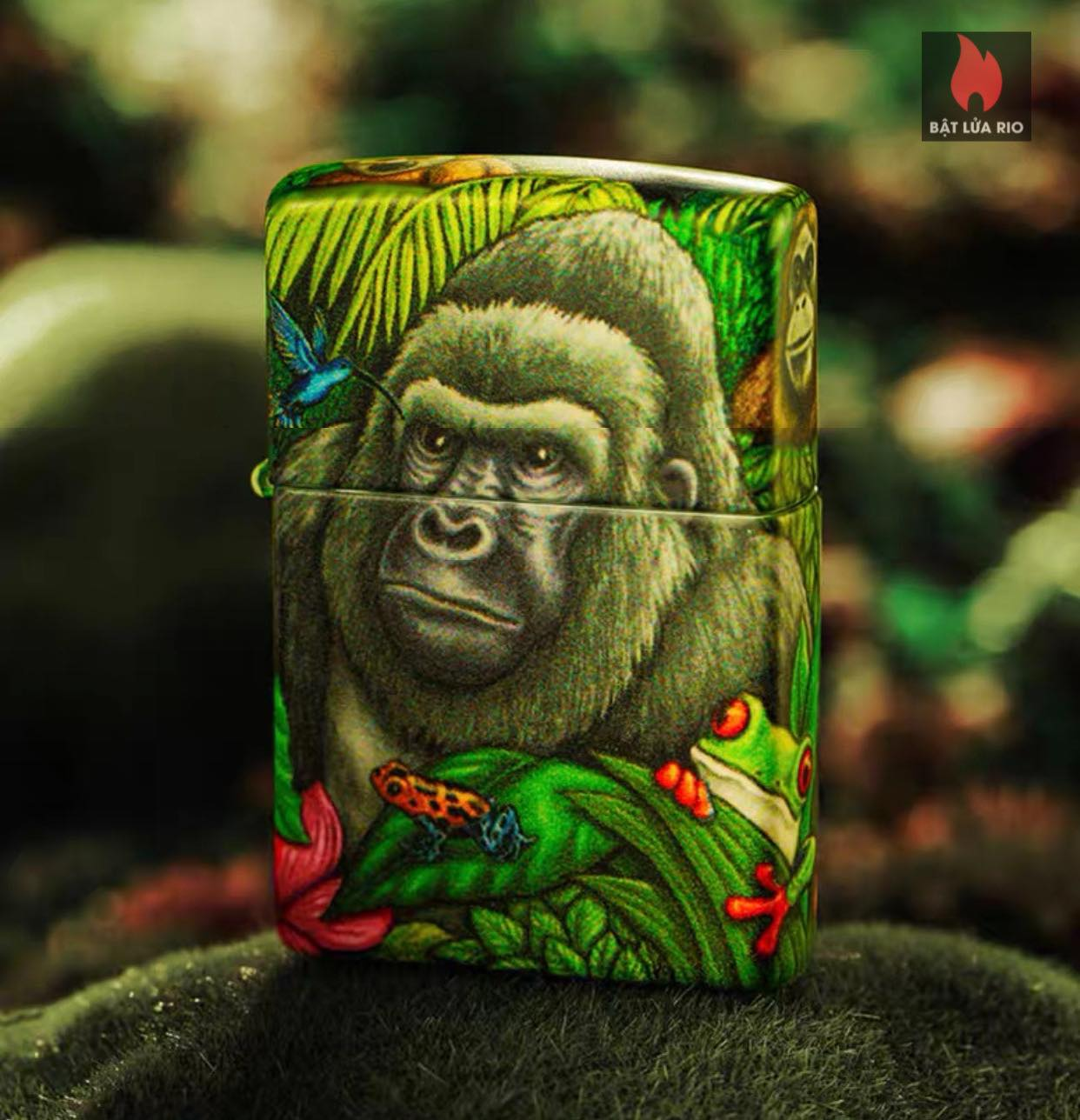 Zippo 49347 - Zippo Mysteries Of The Forest 25th Anniversary Collectible Set 52