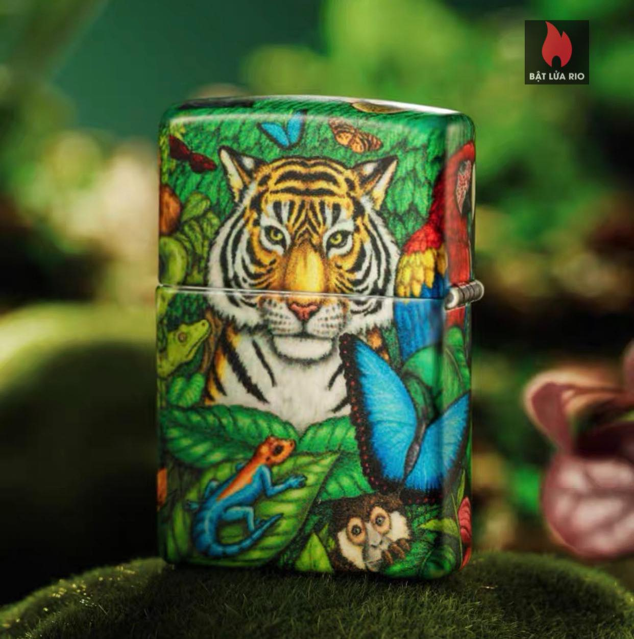 Zippo 49347 - Zippo Mysteries Of The Forest 25th Anniversary Collectible Set 53