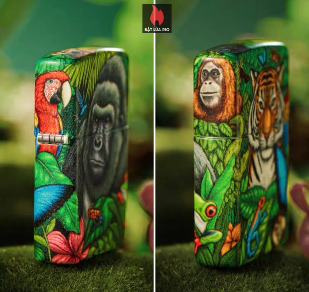Zippo 49347 - Zippo Mysteries Of The Forest 25th Anniversary Collectible Set 54