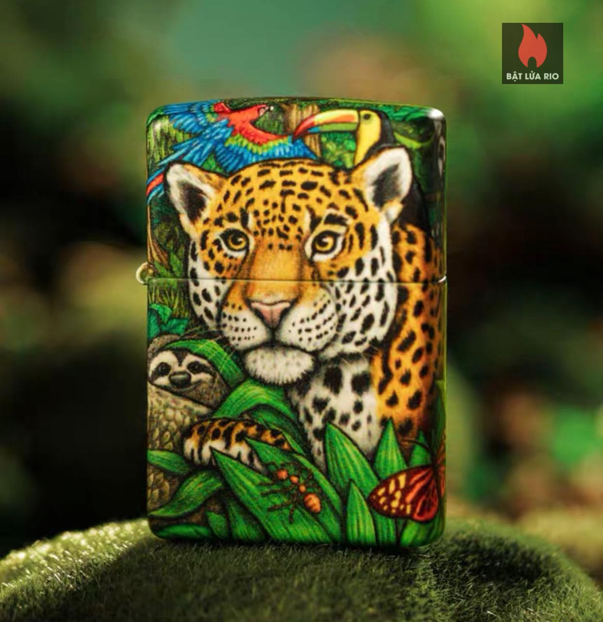 Zippo 49347 - Zippo Mysteries Of The Forest 25th Anniversary Collectible Set 57