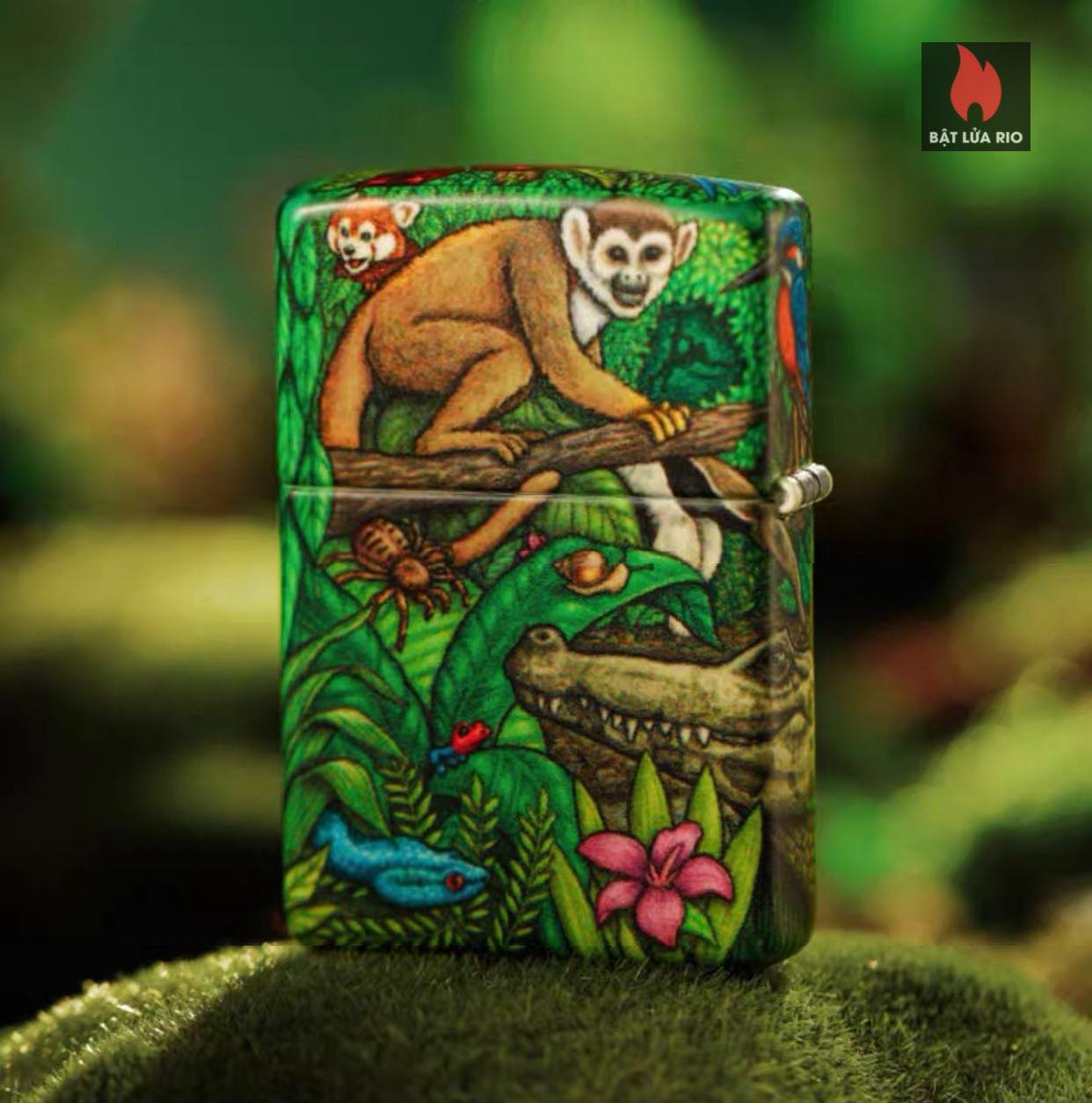 Zippo 49347 - Zippo Mysteries Of The Forest 25th Anniversary Collectible Set 58