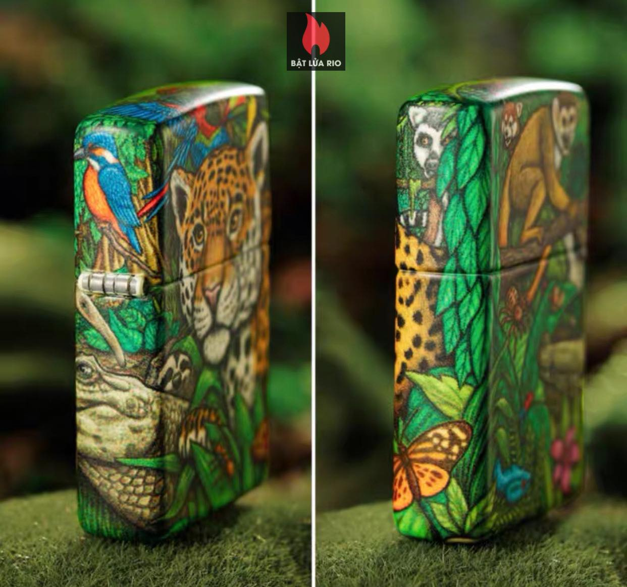 Zippo 49347 - Zippo Mysteries Of The Forest 25th Anniversary Collectible Set 59