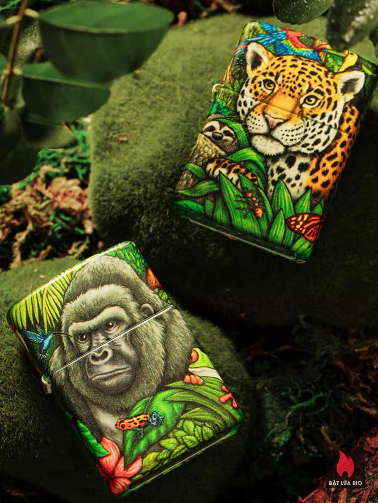 Zippo 49347 - Zippo Mysteries Of The Forest 25th Anniversary Collectible Set 61