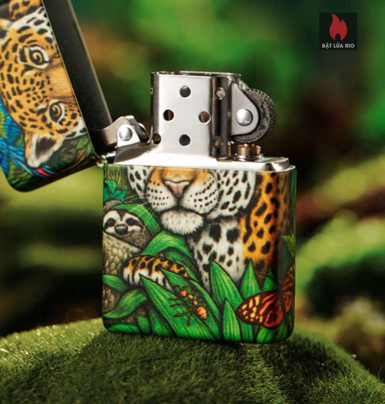 Zippo 49347 - Zippo Mysteries Of The Forest 25th Anniversary Collectible Set 62