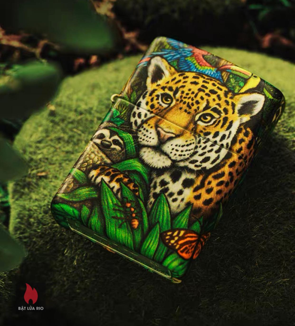 Zippo 49347 - Zippo Mysteries Of The Forest 25th Anniversary Collectible Set 63