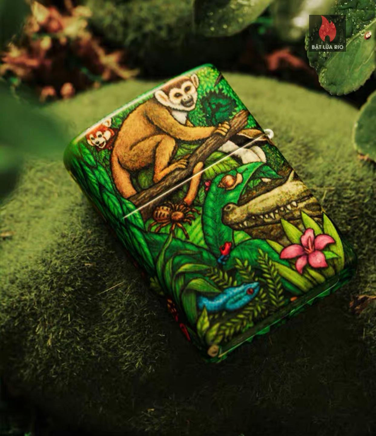 Zippo 49347 - Zippo Mysteries Of The Forest 25th Anniversary Collectible Set 64