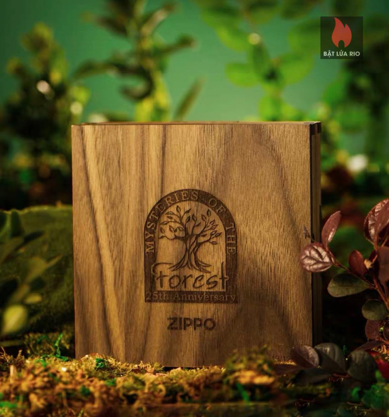 Zippo 49347 - Zippo Mysteries Of The Forest 25th Anniversary Collectible Set 67
