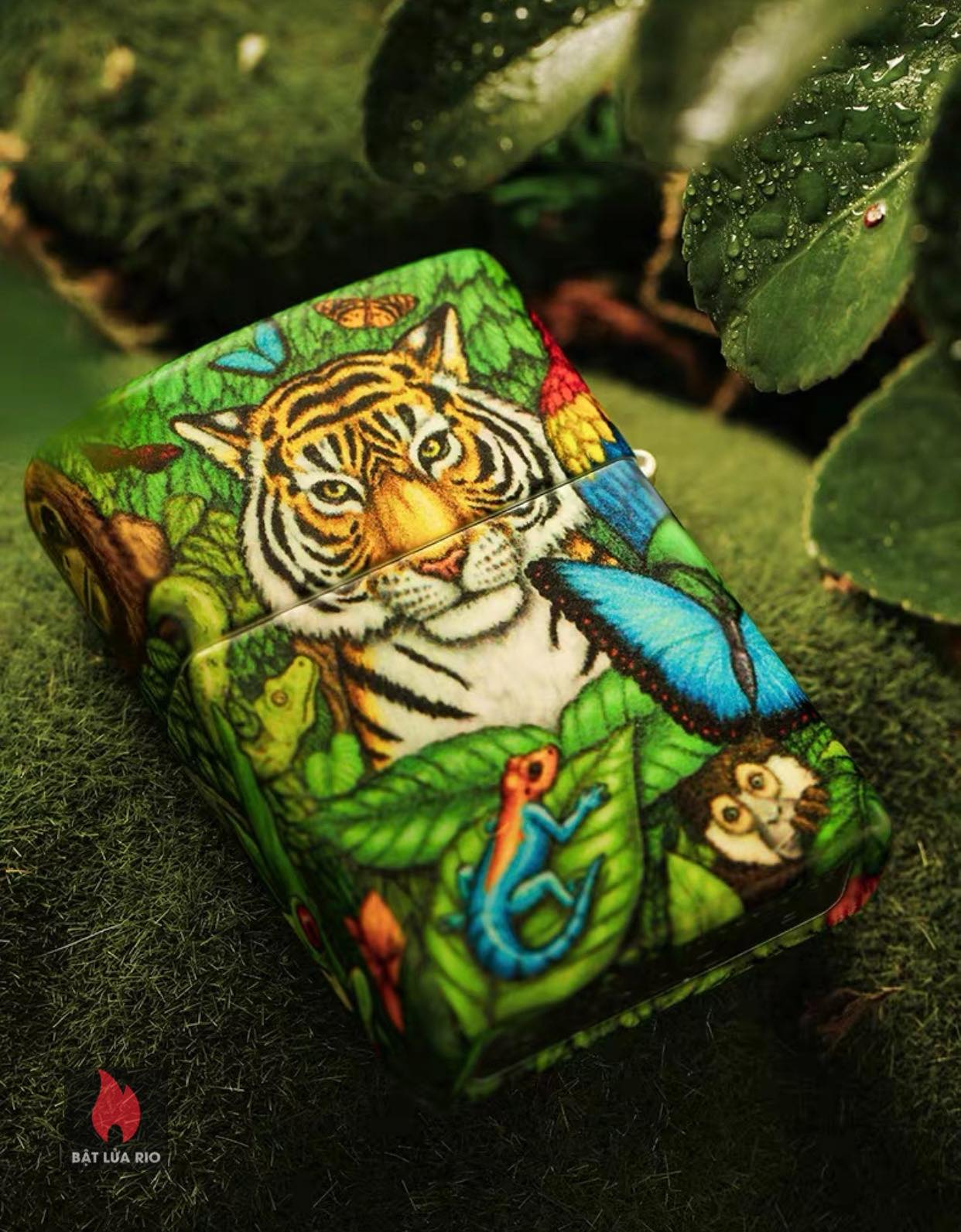 Zippo 49347 - Zippo Mysteries Of The Forest 25th Anniversary Collectible Set 68