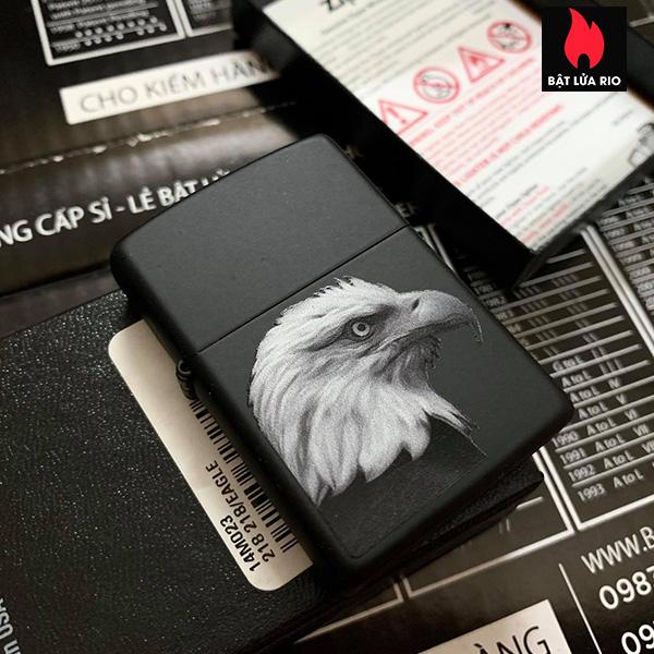 Zippo 218 Eagle Black Matte