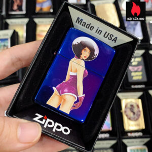 Zippo 29899 Space Girl High Polish Indigo