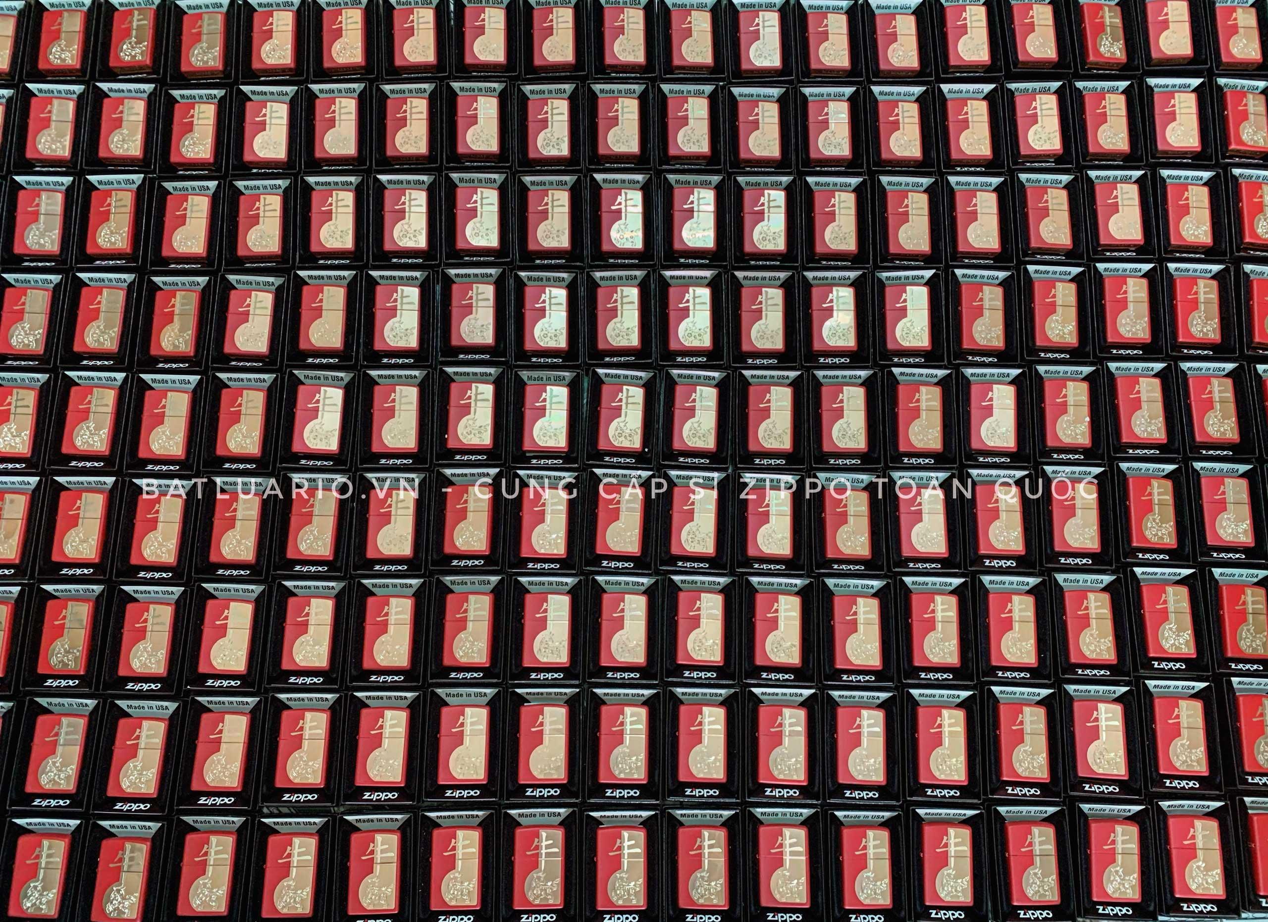 Zippo 49233 - Zippo Year of the Ox Red Matte 10