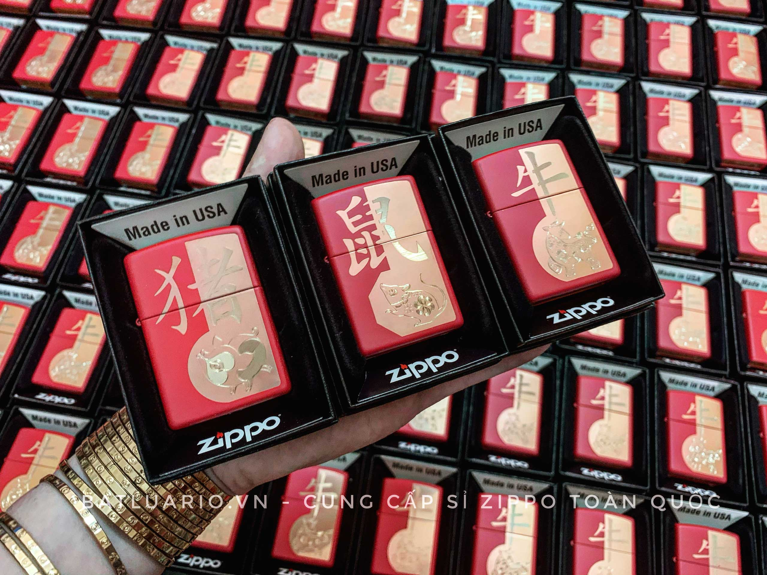Zippo 49233 - Zippo Year of the Ox Red Matte 12