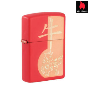 Zippo 49233 - Zippo Year of the Ox Red Matte