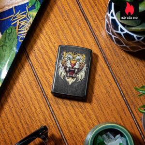 Zippo 49263 - Zippo Sabretooth Tattoo Design Gray Dusk 1